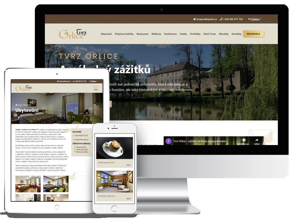Náhled reference Hotel Tvrz Orlice
