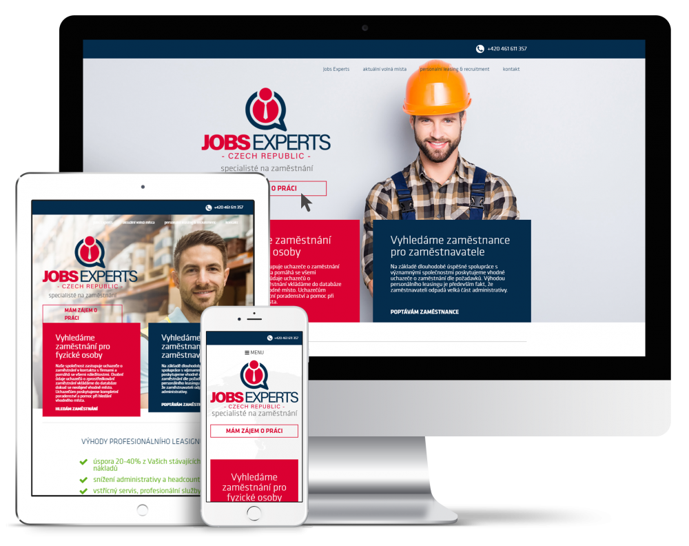 Náhled reference Jobs Experts