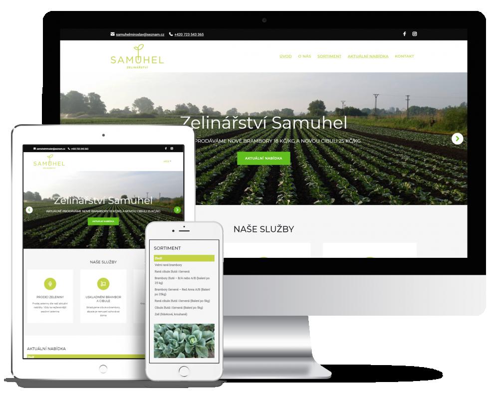 Zelinářství Samuhel náhled